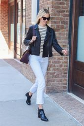 Karolina Kurkova Casual Style - Out in NYC 4/15/2016