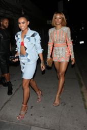Karrueche Tran Night Out Style - Los Angeles 4/3/2016