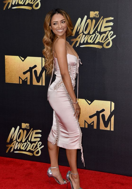 "Kat Graham - 2016 MTV Movie Awards held the Warner studios"" Burbank"