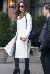 Kate Beckinsale Style - Out in New York City, NY 4/5/2016