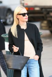Kate Bosworth Casual Style - Out in SoHo in New York City 4/6/2016