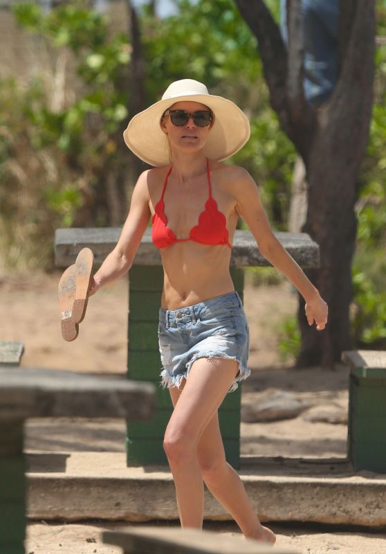 Kate Bosworth in a Bikini at a Beach in Hawaii 3/30/2016