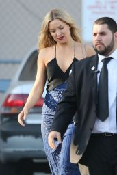 Kate Hudson - Leaving the ABC Studios After Jimmy Kimmel Live in Hollywood 4/26/2016