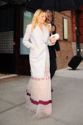 Kate Hudson Style - Heading to an Event in New York 4/28/2016