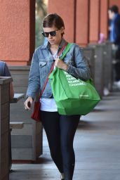 Kate Mara - Shops at Erewhon Supermarket in West Hollywood 4/4/2016