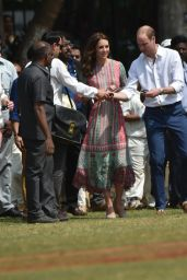Kate Middleton Get a Chance to Say a Big Hello to Mumbai 4/10/2016