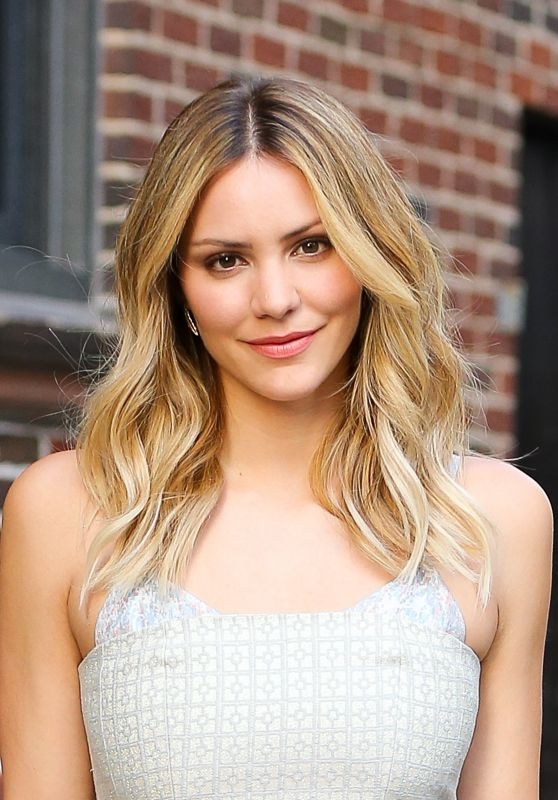Katharine McPhee - Outside the