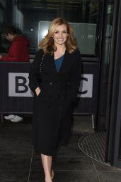 Katherine Jenkins at BBC Breakfast in London 4/25/2016