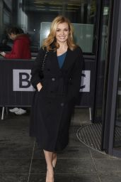 Katherine Jenkins at BBC Breakfast in London 4/25/2016