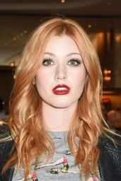 Katherine McNamara - Marc Jacobs And Nylon Magazine Celebrate #PATCHMARC in Los Angeles 4/21/2016