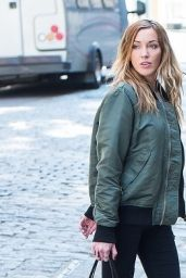 Katie Cassidy - On the Set of a Photoshoot in New York, April 2016