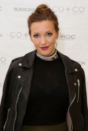 Katie Cassidy - RonRobinson x CO+CO By Coco Rocha Launch Party in Santa Monica, April 2016
