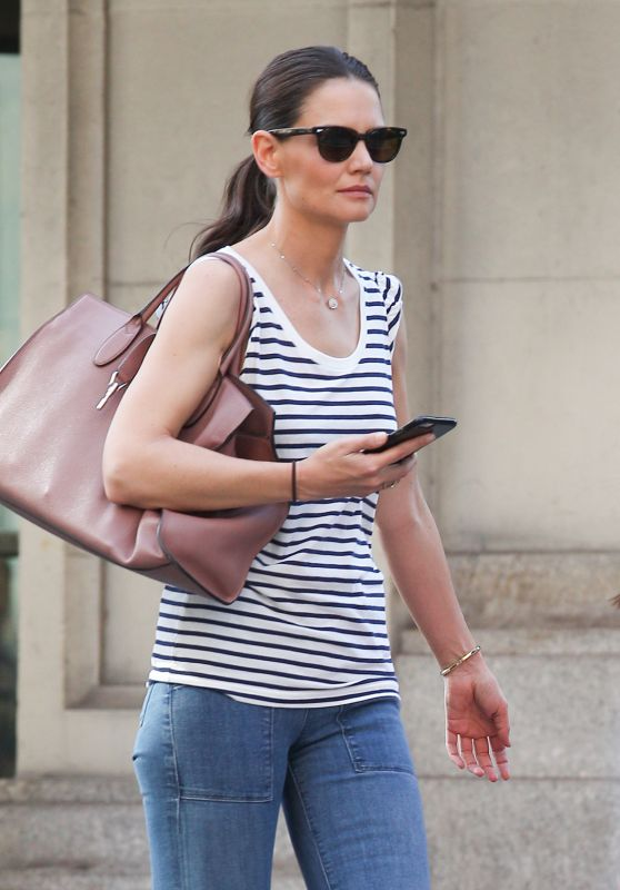 Katie Holmes - Out in New York City, April 2016