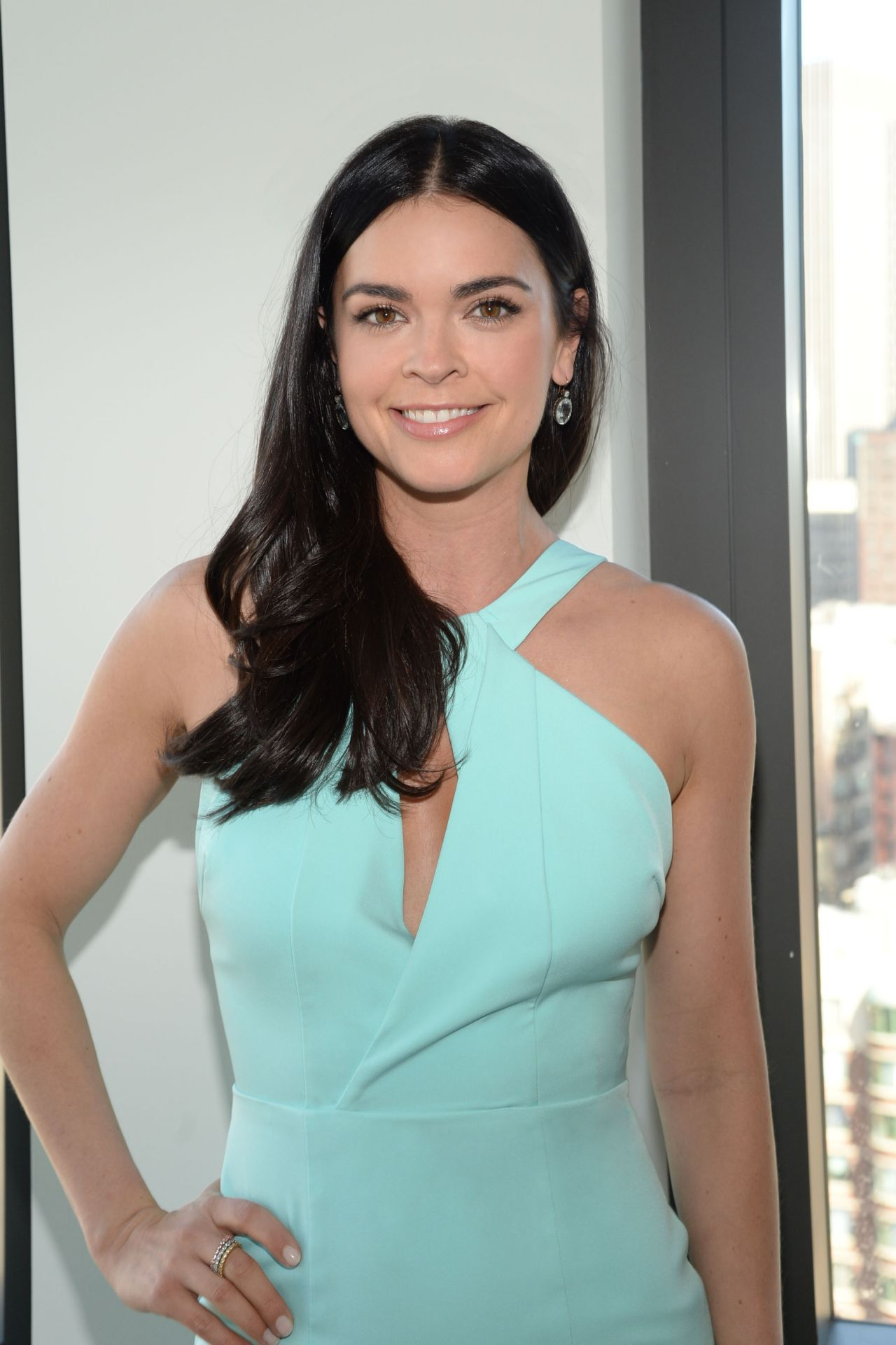 katie lee getting ready for a shoot in new york 4262016