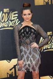 Katie Stevens - 2016 MTV Movie Awards at Warner Bros. Studios in Burbank