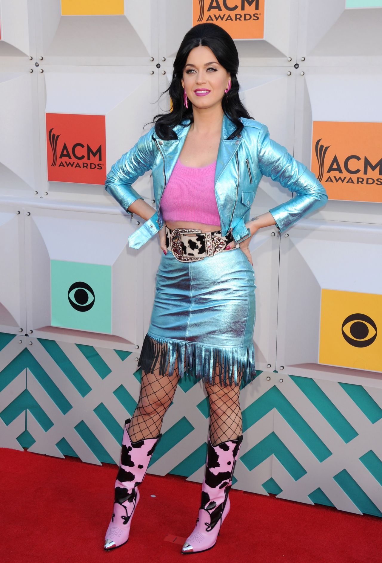 Katy Perry Academy Of Country Music Awards 2016 In Las Vegas