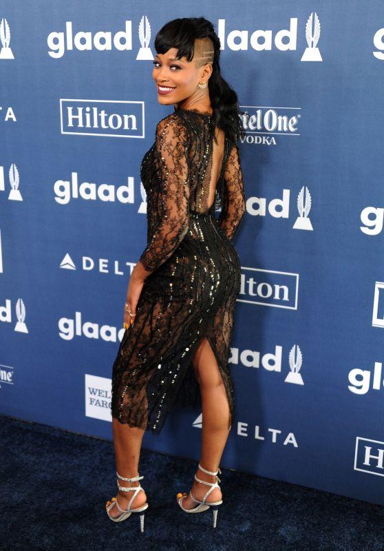 Keke Palmer – 2016 GLAAD Media Awards in Beverly Hills 4/02/2016