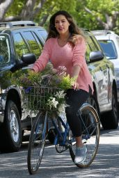 Kelly Brook - Filming Scenes to a Skeckers Commercial in Beverly Hills 4/19/2016