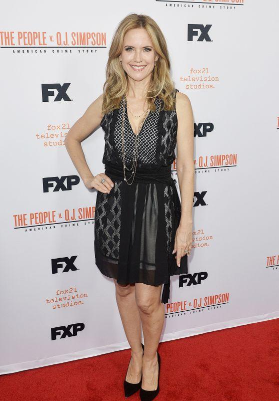 Kelly Preston - The People v O.J. Simpson Mini Series Finale Red Carpet