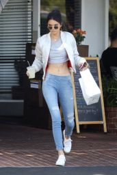 Kendall Jenner in Jeans - Out in West Hollywood 4/26/2016