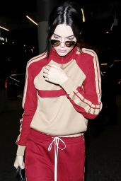 Kendall Jenner - Leaving LAX Aairport After a Fun Weekend at Coachella 4/17/2016