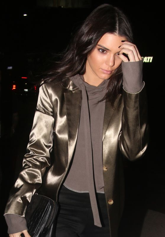 Kendall Jenner Night Out - at The Nice Guy in West Hollywood 3/31/2016
