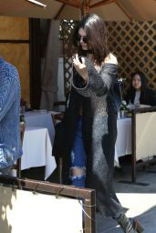 Kendall Jenner Style - at Il Pastio in Beverly Hills 3/31/2016