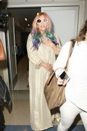 Kesha at LAX Airpot in Los Angeles 4/22/2016