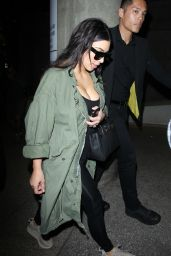 Kim Kardashian and Kourtney Kardashian - Arrive Home From Iceland 4/20/2016