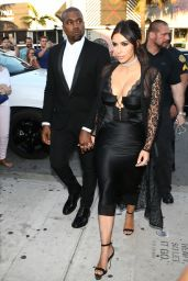 Kim Kardashian – Arrive at Isabela Rangel and David Grutman's Wedding in Miami, FL 4/23/2016