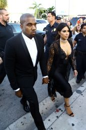 Kim Kardashian – Arrive at Isabela Rangel and David Grutman's Wedding in Miami, FL 4/23/2016