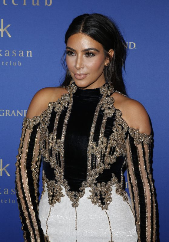 Kim Kardashian - Hakkasan Las Vegas Nightclub at MGM Grand Celebrates its Third Anniversary 4/8/2016