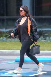 Kim Kardashian Street Style - Out in Calabasas 4/9/2016