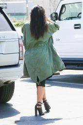 Kim Kardashian Street Style - Out in Glendale 4/1/2016