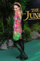 Kimberly Wyatt – 'The Jungle Book' European Premiere at BFI IMAX in London