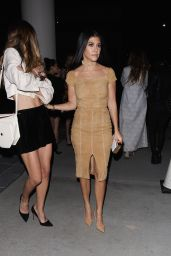 Kourtney Kardashian – Alice + Olivia Fashion Show at Neuehouse Hollywood in Los Angeles