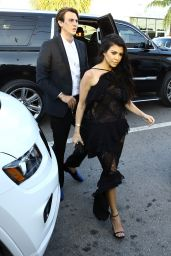 Kourtney Kardashian – Arrive at Isabela Rangel and David Grutman's Wedding in Miami, FL 4/23/2016
