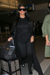 Kourtney Kardashian - Arriving at LAX Airport in LA, 4/20/2016