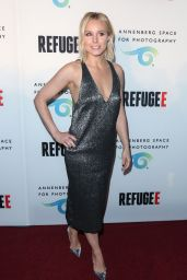 Kristen Bell - REFUGEE Exhibit Opening at Annenberg Space for Photography in Los Angeles 4/21/2016