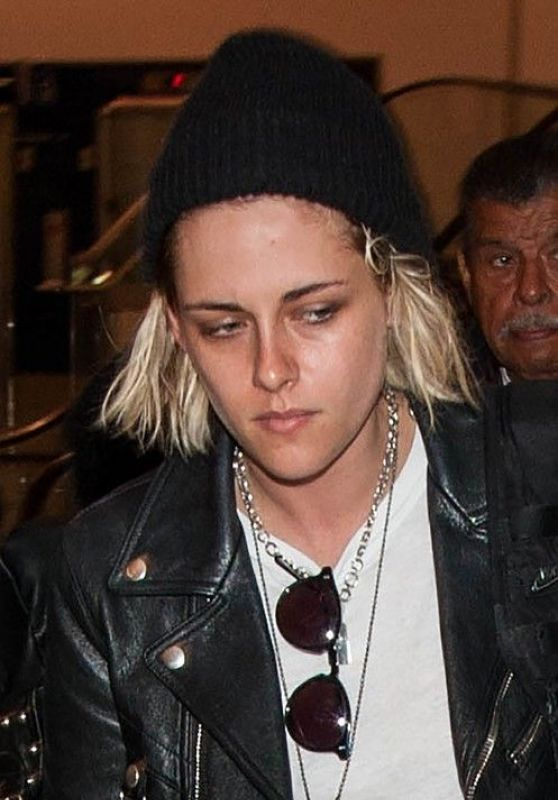 Kristen Stewart - LAX Airport in LA 4/10/2016