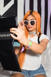 Kylie Jenner – #PERVERSEcirque Tent at Coachella, April 2016