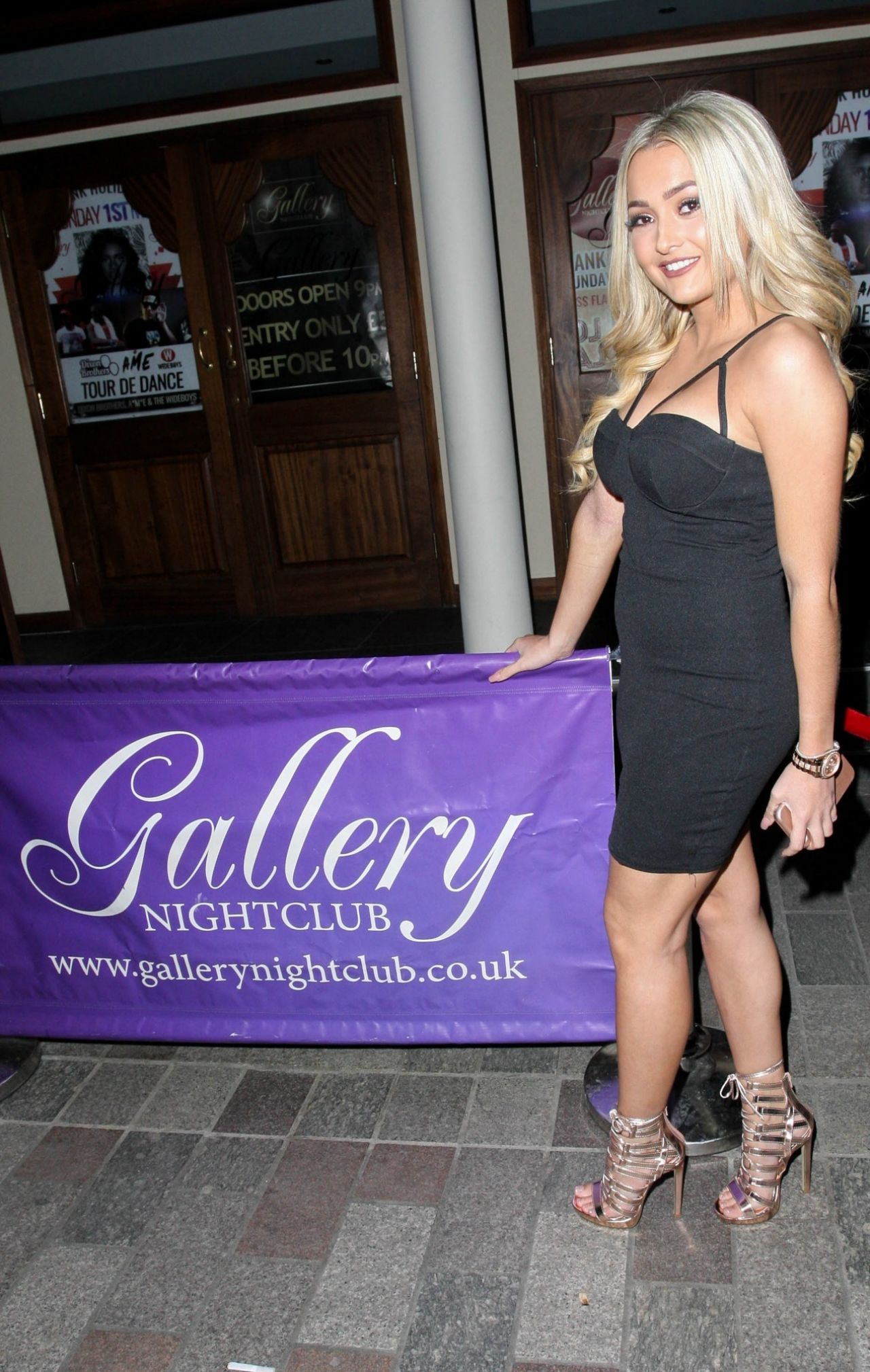 Lacey Fuller Hit Up Gallery Nightclub In Maidstone