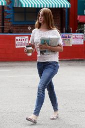 Lana del Rey in Jeans - Shopping in Los Angeles 4/10/2016