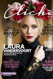 Laura Vandervoort - Cliché Magazine April May 2016 Issue