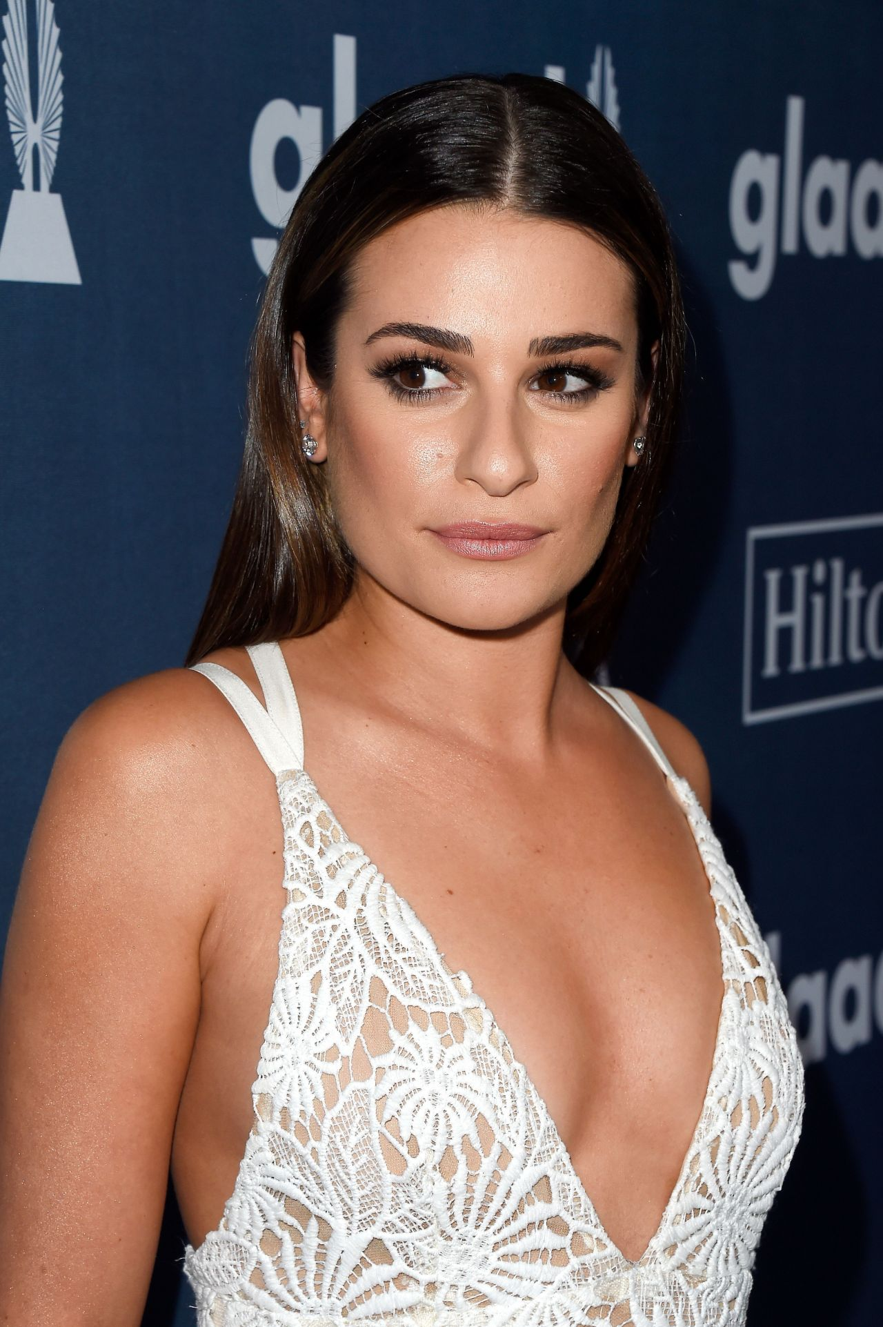 Lea Michele 2016 Glaad Media Awards In Beverly Hills 4