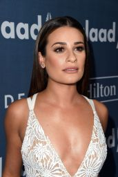 Lea Michele – 2016 GLAAD Media Awards in Beverly Hills 4/02/2016
