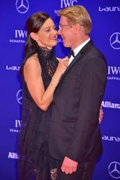 Lilly and Boris Becker - Laureus World Sports Awards at Messe Berlin 4/18/2016