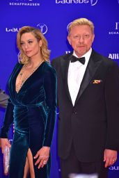Lilly and Boris Becker - Laureus World Sports Awards at Messe Berlin 4/18/2016