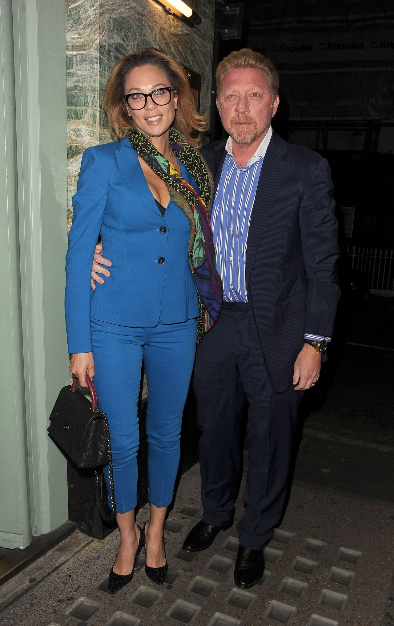 lilly and boris becker leaves sexyfish in london uk 4