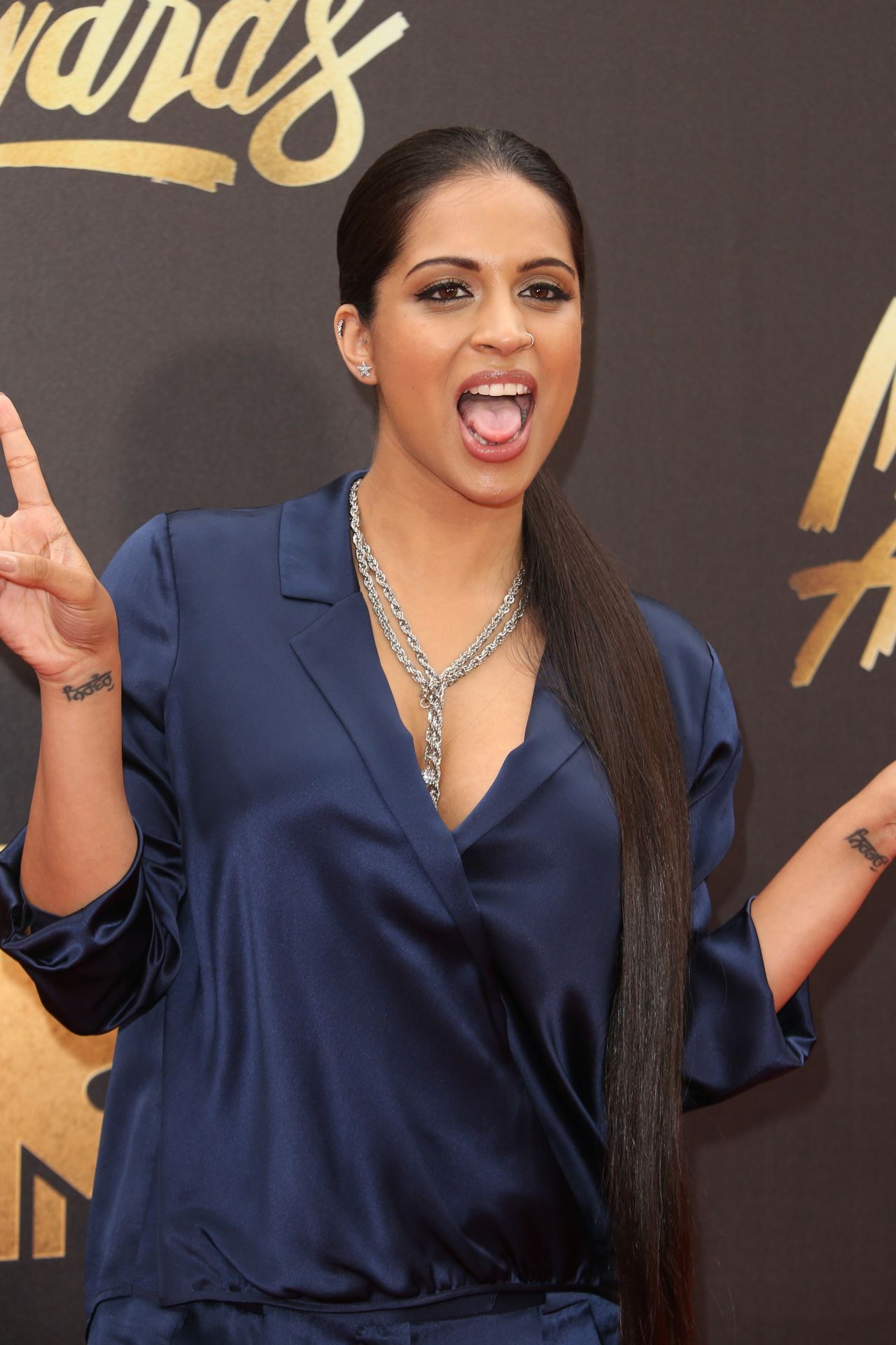 Lilly Singh 2016 MTV Movie Awards At Warner Bros